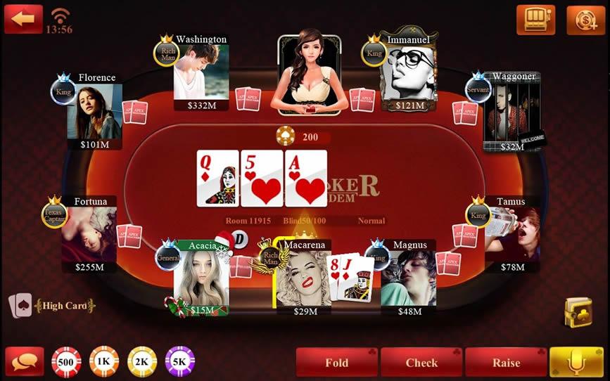 online poker texas holdem zdarma