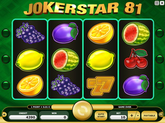 Kajot Joker Star 81
