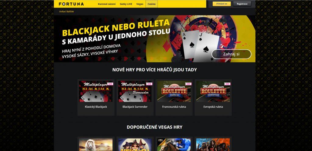 Fortuna casino CZ