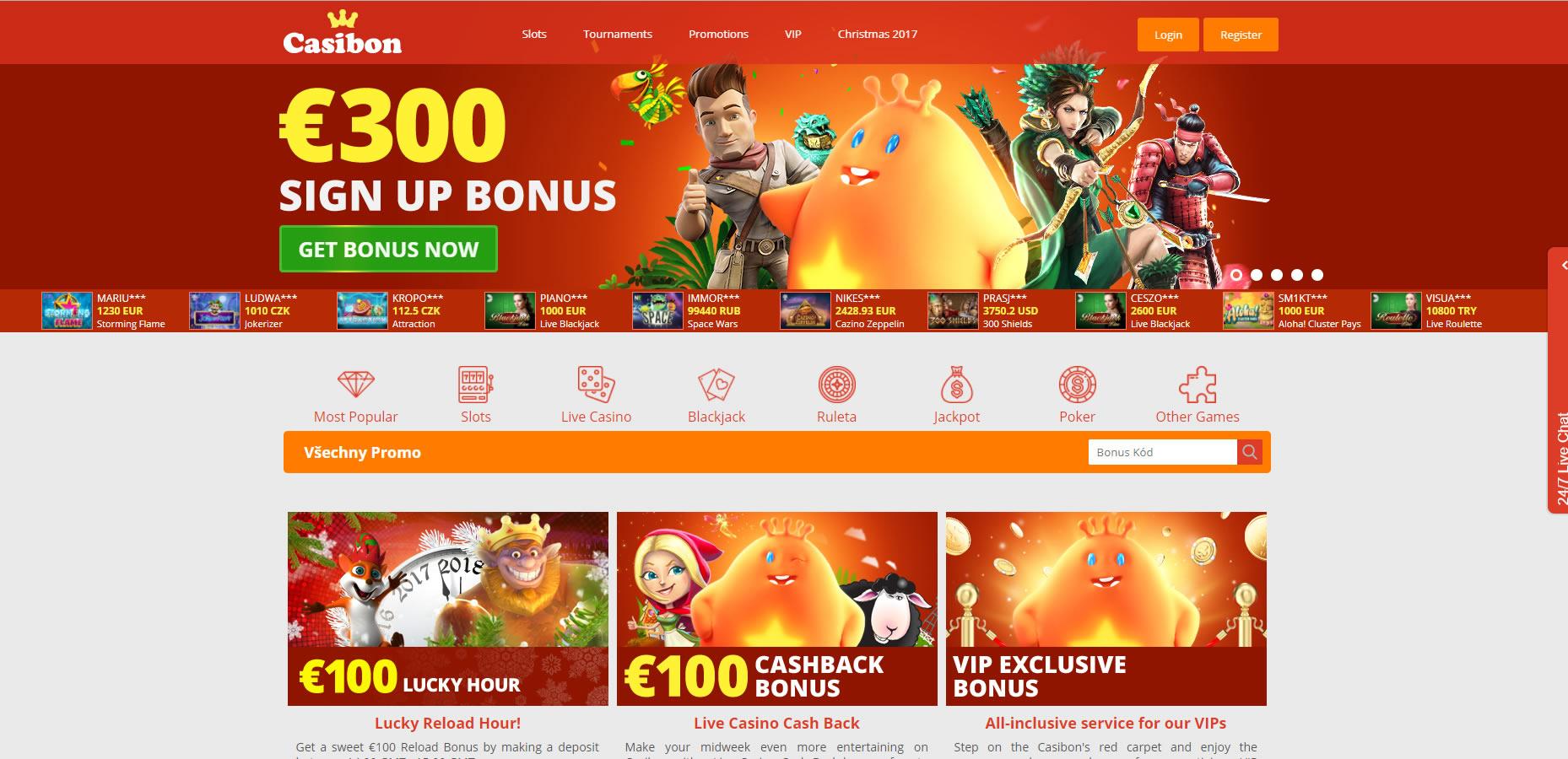 online casino recenze